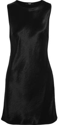 Versus Versace - Embellished Satin Mini Dress - Black