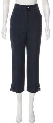 Louis Vuitton High-Rise Cropped Pants