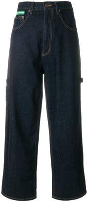 Marc Jacobs cropped turn-up jeans
