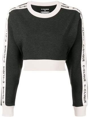 Pinko Clique cropped jumper