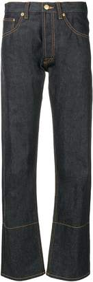 Loewe embroidered five pocket jeans