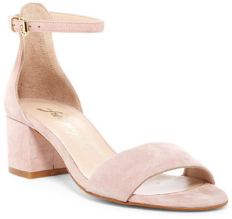Free People Marigold Block Heel Sandal $128 thestylecure.com