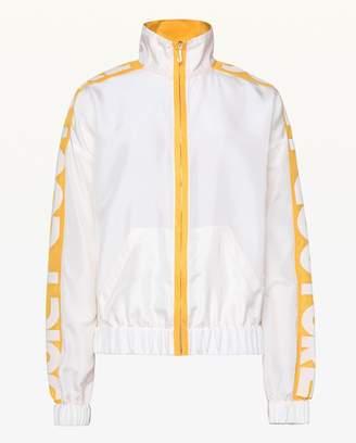 Juicy Couture Habotai Silk Track Jacket