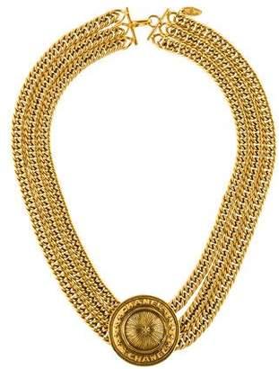 Chanel Medallion Three Chain Choker