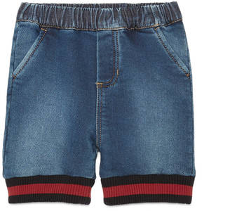 Baby felted cotton denim short $225 thestylecure.com