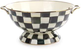 Mackenzie Childs Courtly Check Enamel Everything Bowl (42cm)