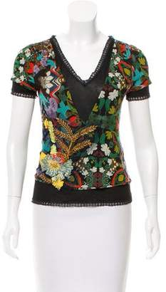 Christian Lacroix Short Sleeve Top
