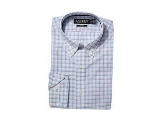 Lauren Ralph Lauren Slim Fit No-Iron Cotton Dress Shirt
