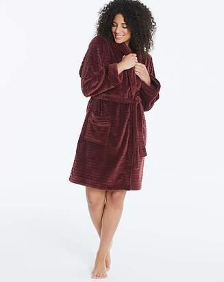fad59c276b Pretty Secrets Textured Fleece Gown