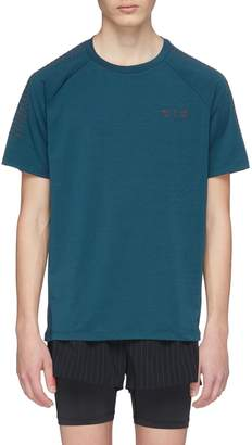 Particle Fever Rubberised stripe sleeve drirelease® performance T-shirt