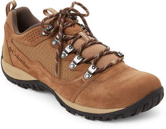 Columbia Delta & Deep Rust Low Suede Peakfreak Venture Boots