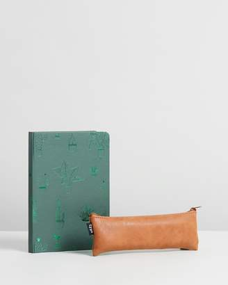Cotton On Notebook and Case Set