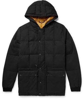 NN07 Park Quilted Cotton-Blend Hooded Down Parka