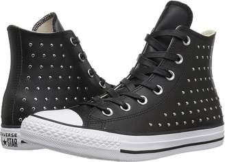 ... Converse Chuck Taylor All Star Leather Studs Hi Women s Shoes a5d8abd70