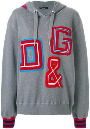 Dolce & Gabbana patch hoodie