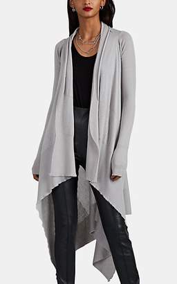 Rick Owens Women's Cashmere Long Wrap Cardigan - Light Gray
