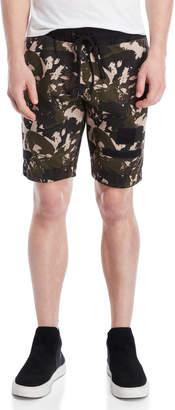 Religion Rover Printed Drawstring Shorts