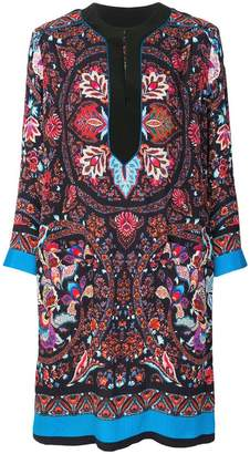 Etro mixed floral print dress