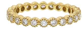 Couture Sethi Diamond Bezel Band Ring - Yellow Gold