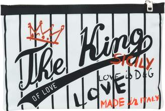 Dolce & Gabbana The King Of Love Pouch