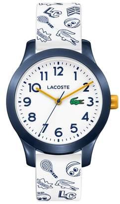 Lacoste 12.12 Rubber Strap Watch, 32mm
