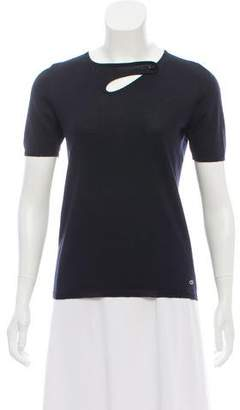 Christian Dior Cashmere Short Sleeve Top
