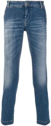 Entre Amis cropped slim fit jeans