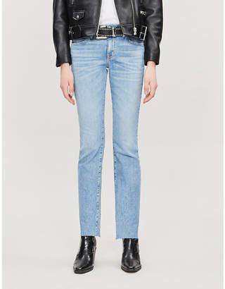 Selfridges Slvrlake Scarlett straight high-rise jeans