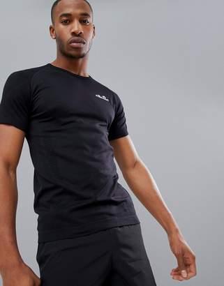 Ellesse Sports Ster compression t-shirt in black