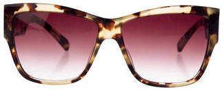 Paul Smith Tortoiseshell Square Sunglasses $75 thestylecure.com