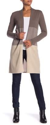 Sofia Cashmere Cashmere Colorblock Duster