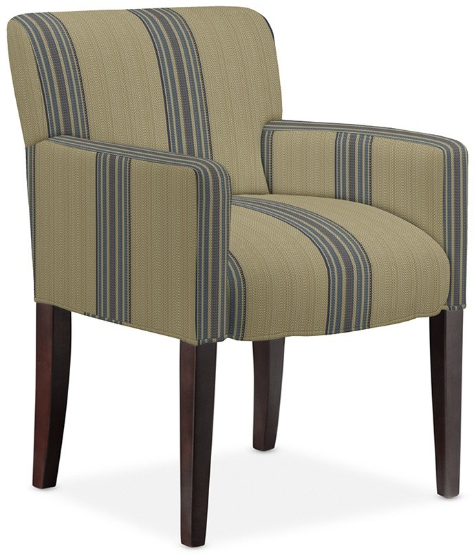 Williams-Sonoma Fitzgerald Upholstered Armchair, Rustic Yacht Stripe