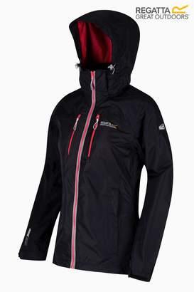 Next Regatta Womens Calderdale Waterproof Jacket Black 12