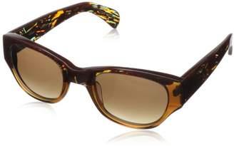 Kensie Women's Funky Fresh Round Sunglasses