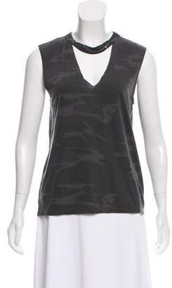 Pam & Gela Sleeveless Knit T-Shirt