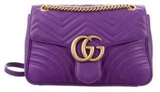Gucci Medium GG Marmont Matelassé Shoulder Bag