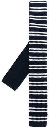 Church's striped skinny scarf
