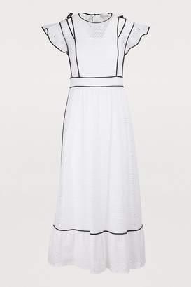 RED Valentino Long cotton dress