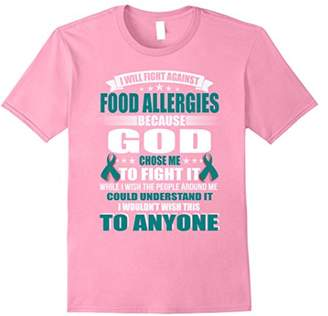 I will fight against FOOD ALLERGIES t-shirt