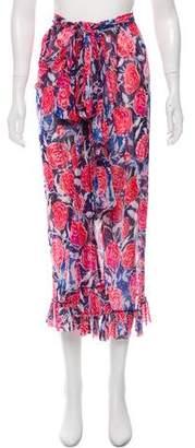 Fuzzi Printed Midi Skirt w/ Tags