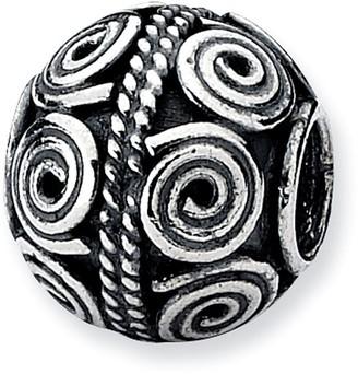 Prerogatives Sterling Crop Circle Artisan Bead