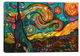 iCanvas Starry Night Giclee Print Canvas Art