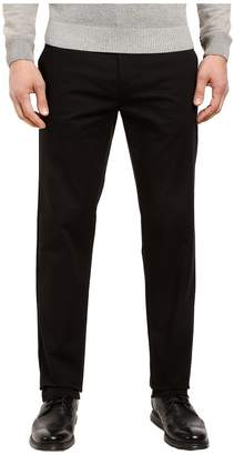 Calvin Klein Refined Stretch Cotton Twill Pant Men's Clothing