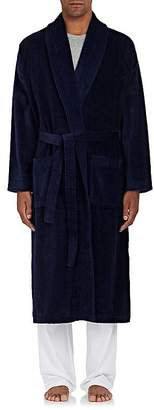 Derek Rose Men's Triton Cotton French Terry Velour Robe
