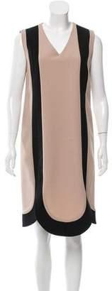 Marni Virgin Wool Colorblock Dress