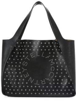Stella McCartney Embellished Logo Tote