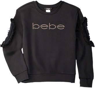 Bebe Ruffle Sweatshirt
