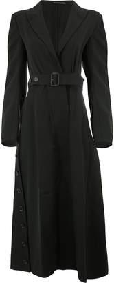 Yohji Yamamoto belted trench coat