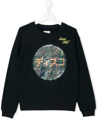 Bellerose Kids sequin embroidery sweatshirt