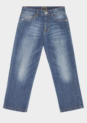 Versace Stone Wash Jeans